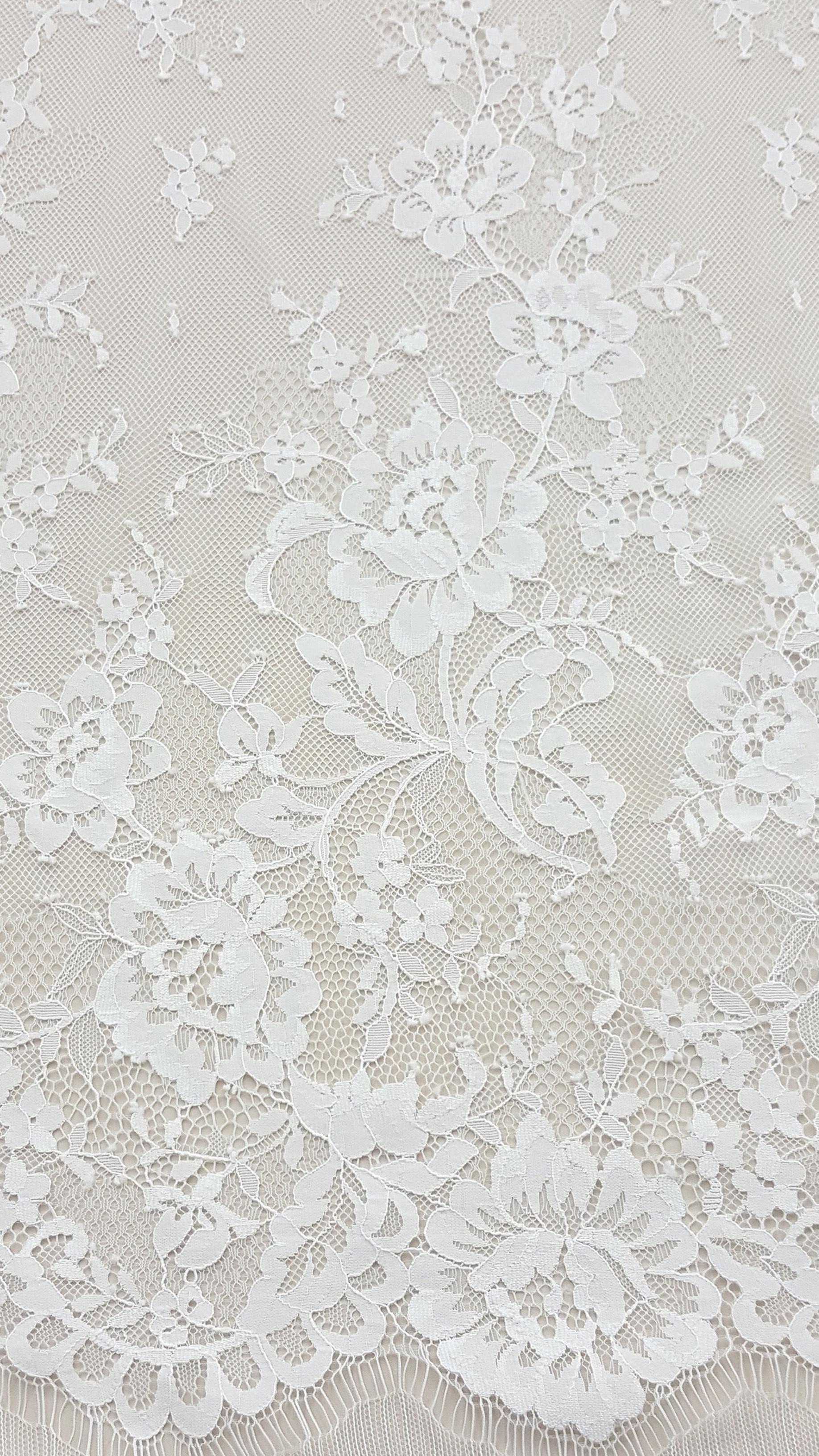Floral Sheet Lace Abigail