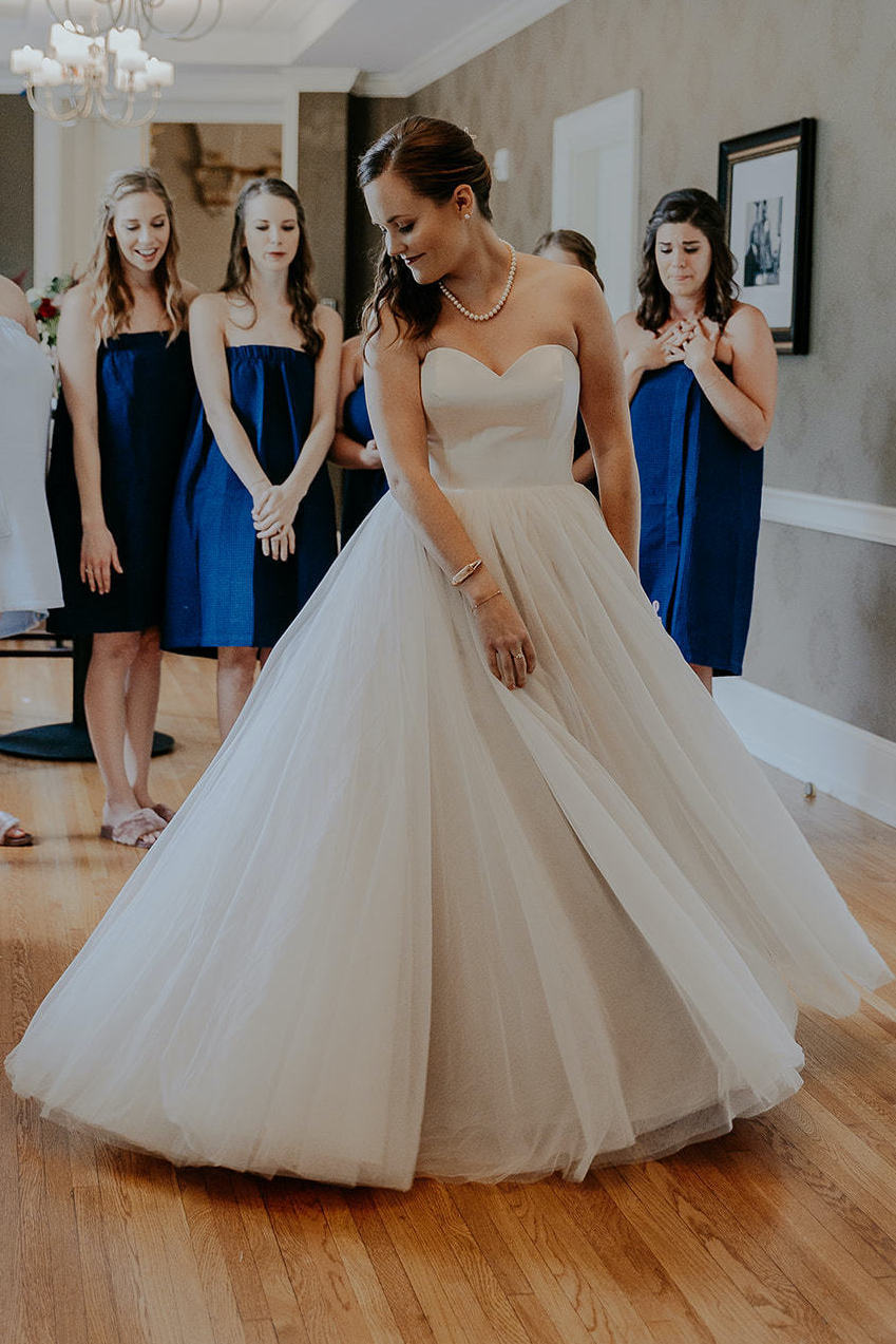 At Anomalie, brides can create tulle Ball Gowns online.