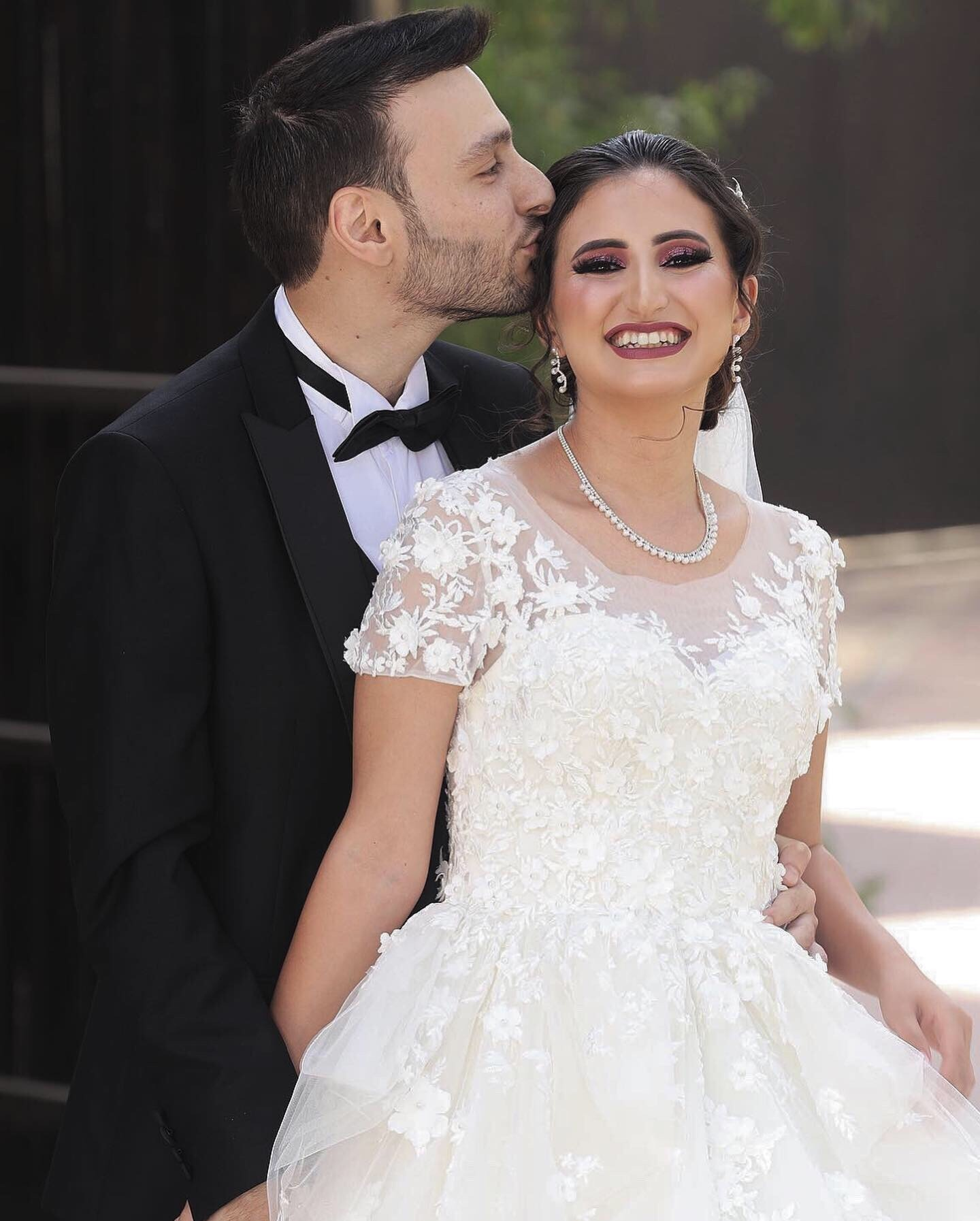 Brides around the United States are using Anomalie to create lace Ball Gown wedding dresses online.