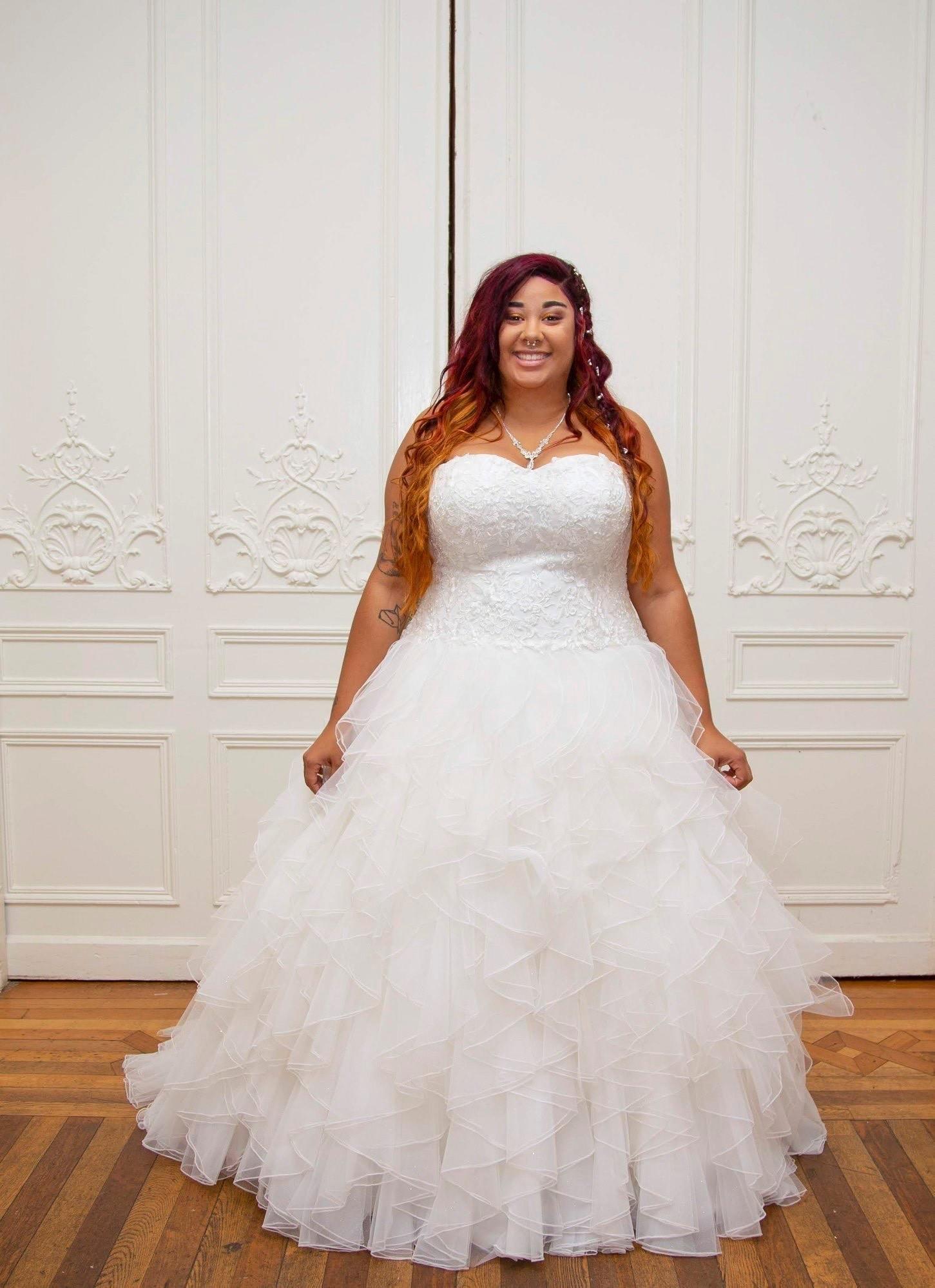 Buy plus size vintage style wedding dresses cheap online