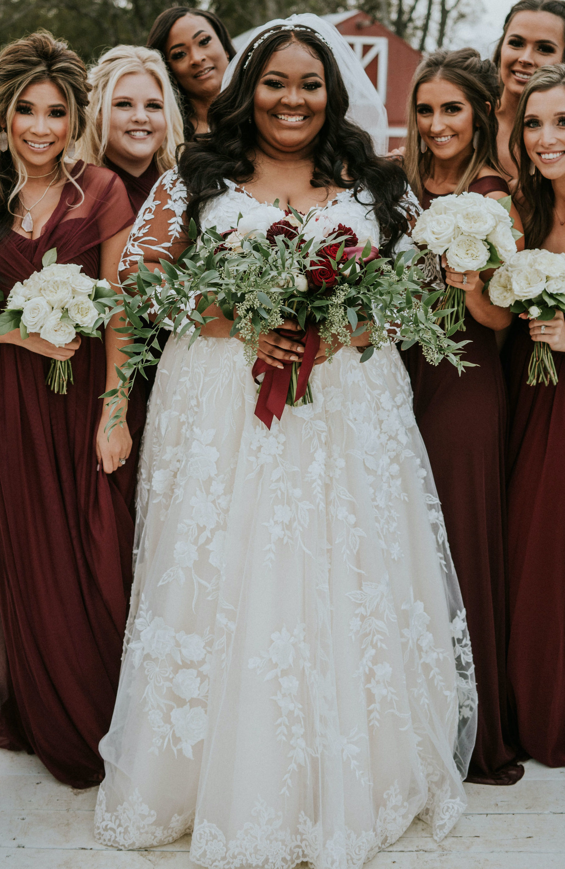 Anomalie is the best choice for plus size brides who want a custom lace wedding dress online.